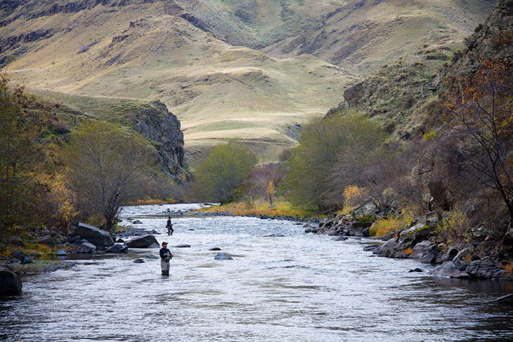 Steelhead Fishing In Eastern Oregon